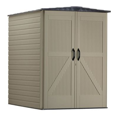 Rubbermaid 1974202 5 Ft X 6 Ft Roughneck Gable Storage