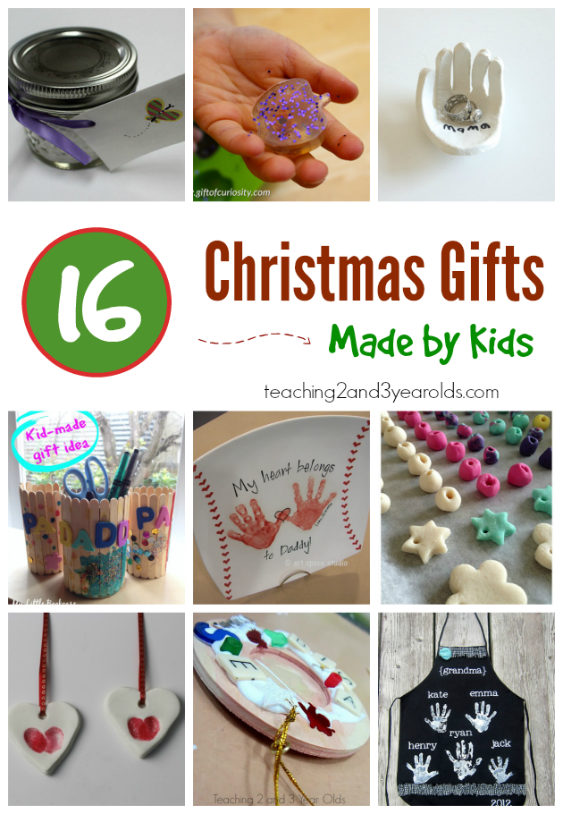 20 Easy Kid Made Christmas Gifts | Toddler christmas gifts, Kid made christmas gifts, Baby ...