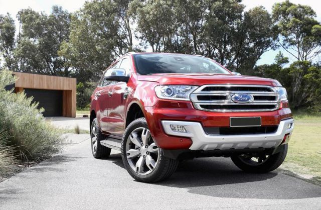 2018 Ford Everest Luxury Suv Review Upcoming Cars Ford