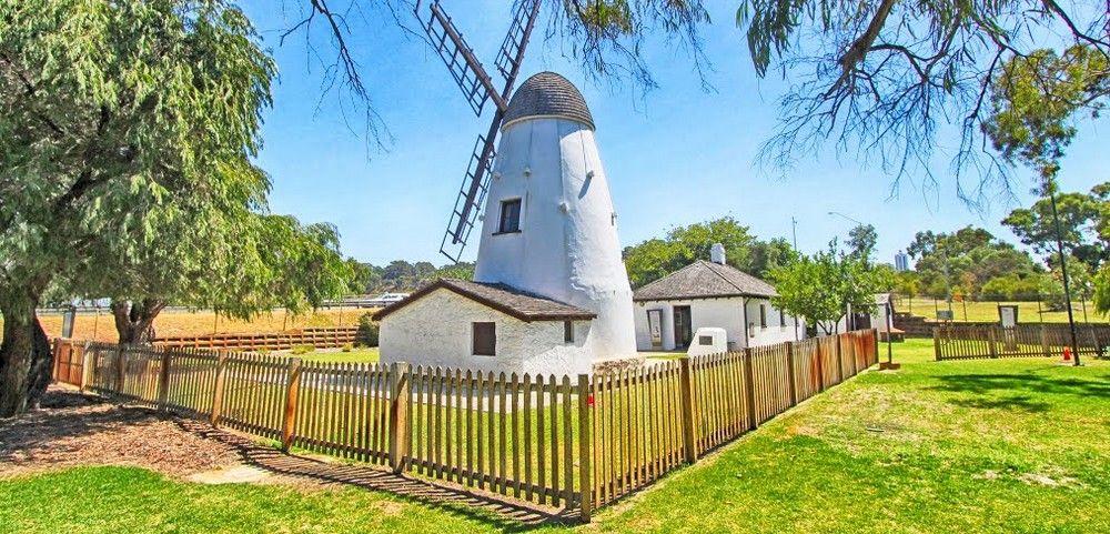 Postcards Historical Memorabilia The Old Mill Perth Western Australia