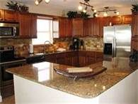 condo on the beach - Great kitchen, but I prefer everything in a lighter color.