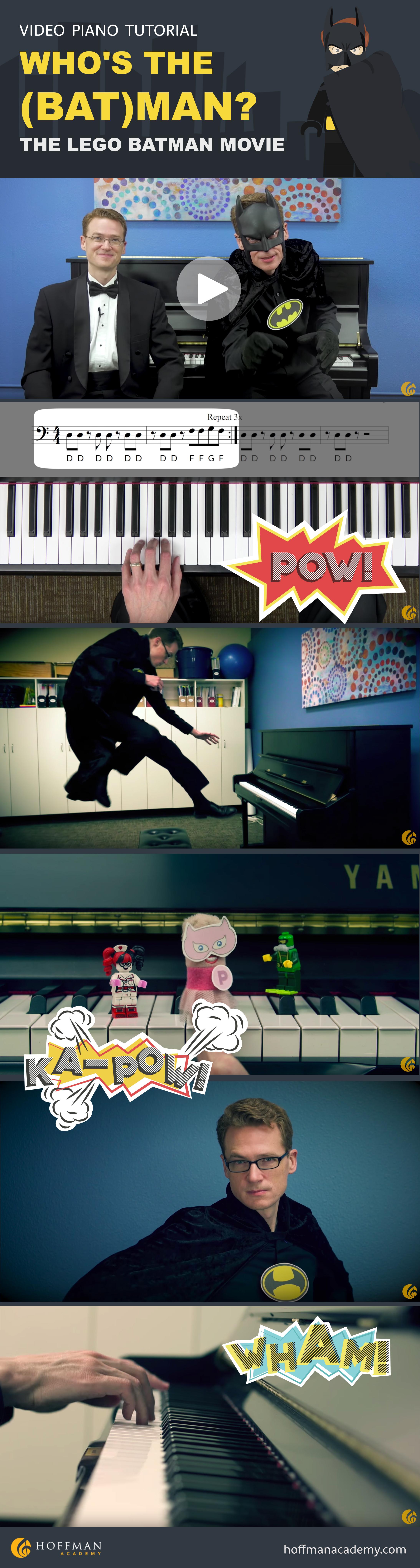Piano Tutorial Video
