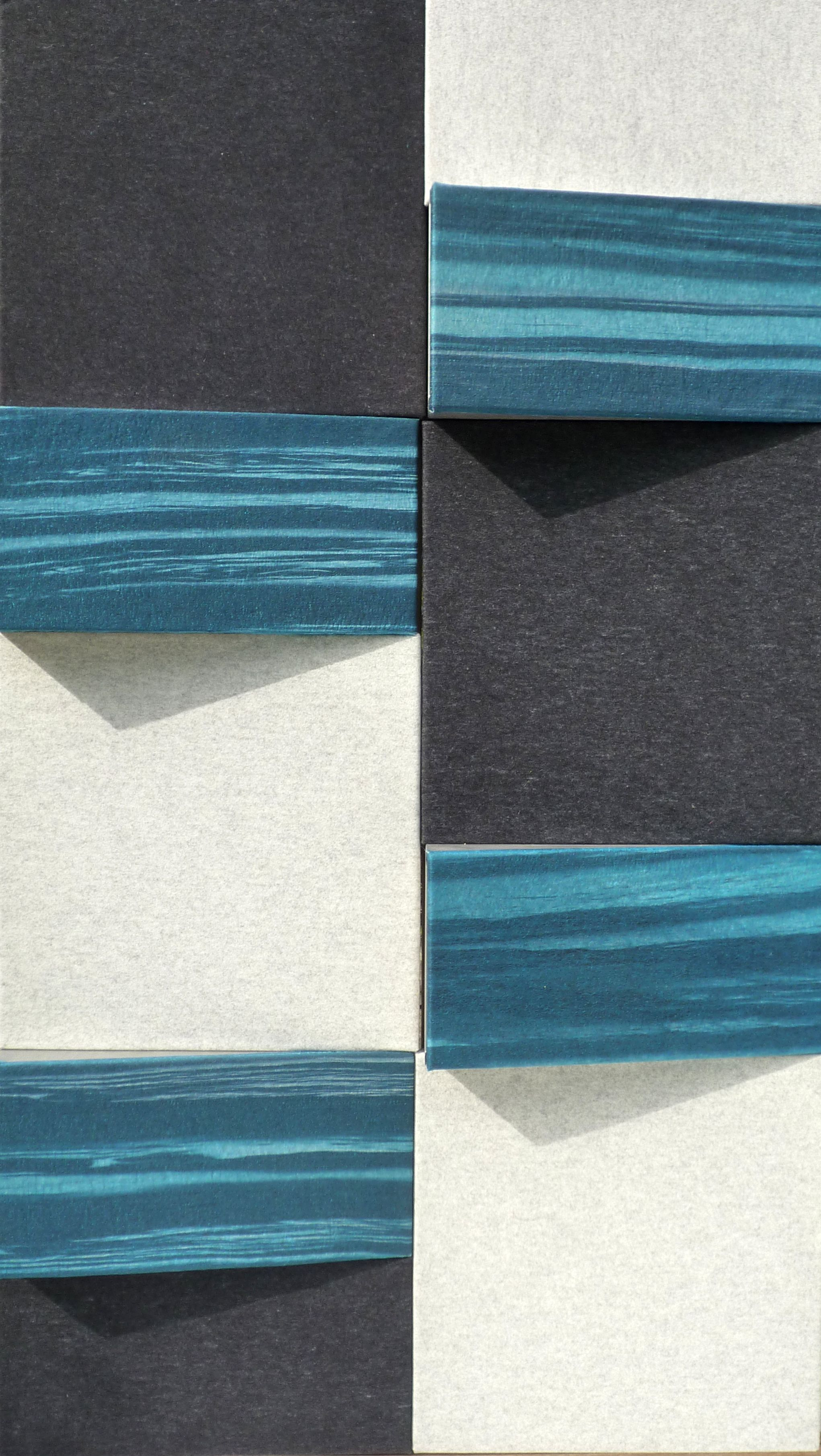 Wedges bespoke acoustic panel design by Gill Hewitt. Sound absorbing ...