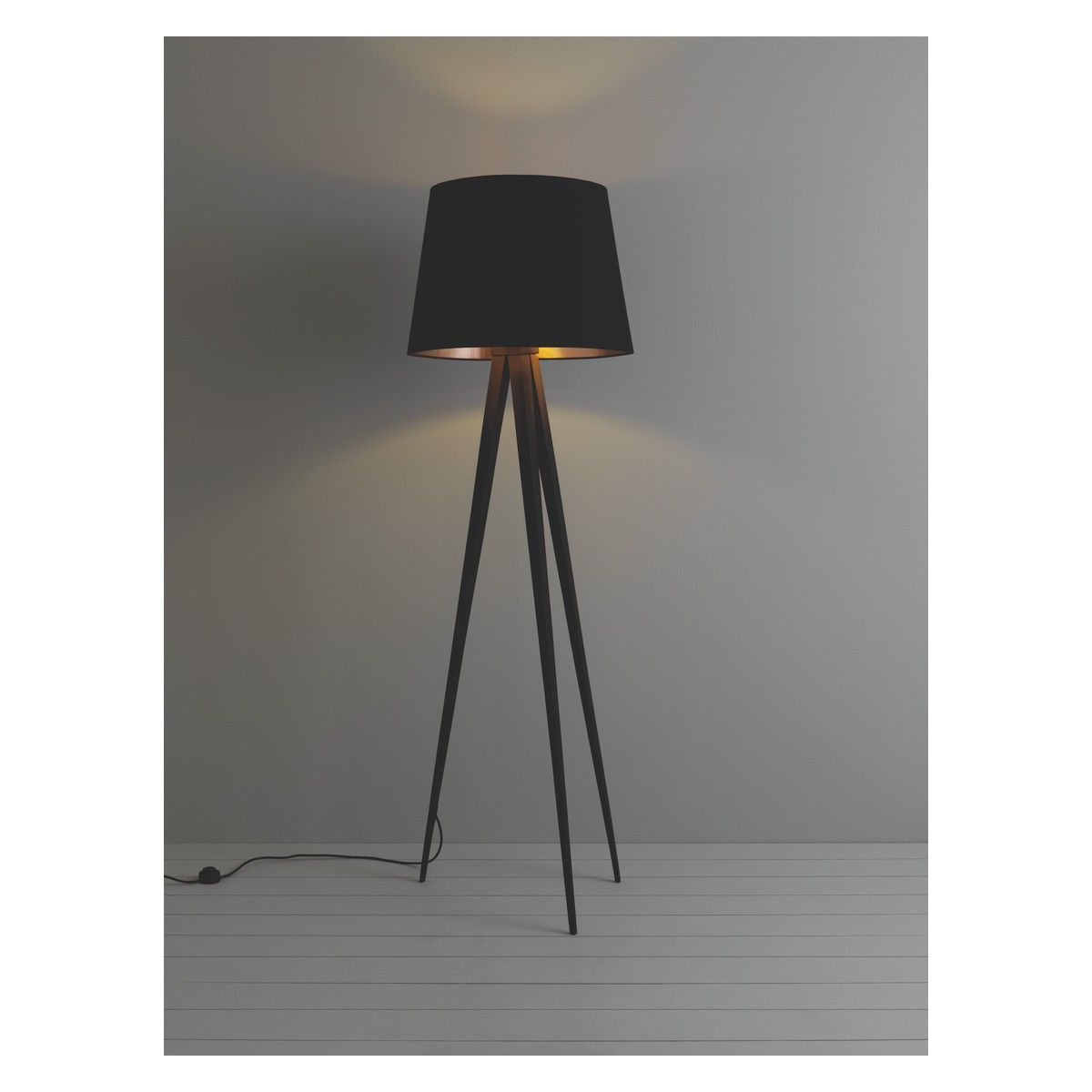 Yves base black metal tripod floor lamp lamp bases black metal yves base black metal tripod floor lamp aloadofball Choice Image