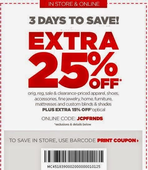 Free Printable Coupons JcPenney Coupons cupones Pinterest - printable vouchers