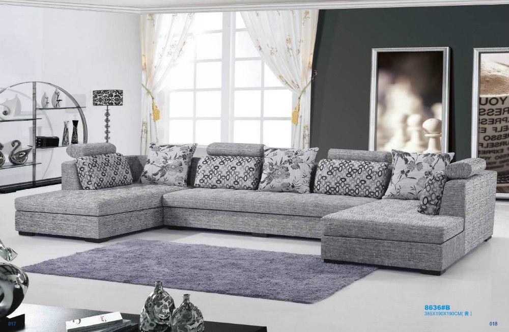 The New U Shaped Sofa Fabric Fashion Warm 8611 China Mainland