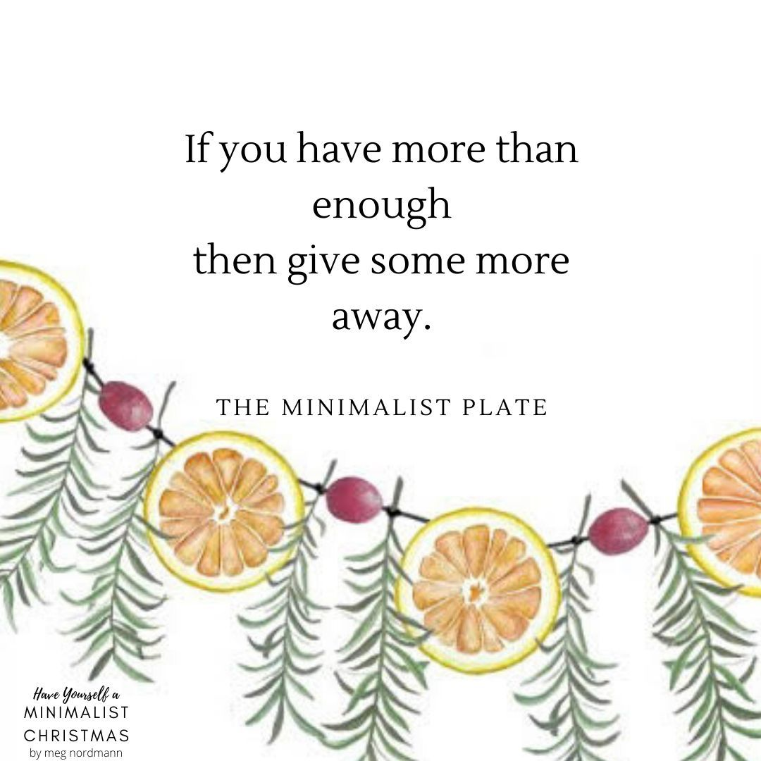 Tis The Season Of Giving After All Minimalist Christmas Minimalist Quotes Christmas Quotes