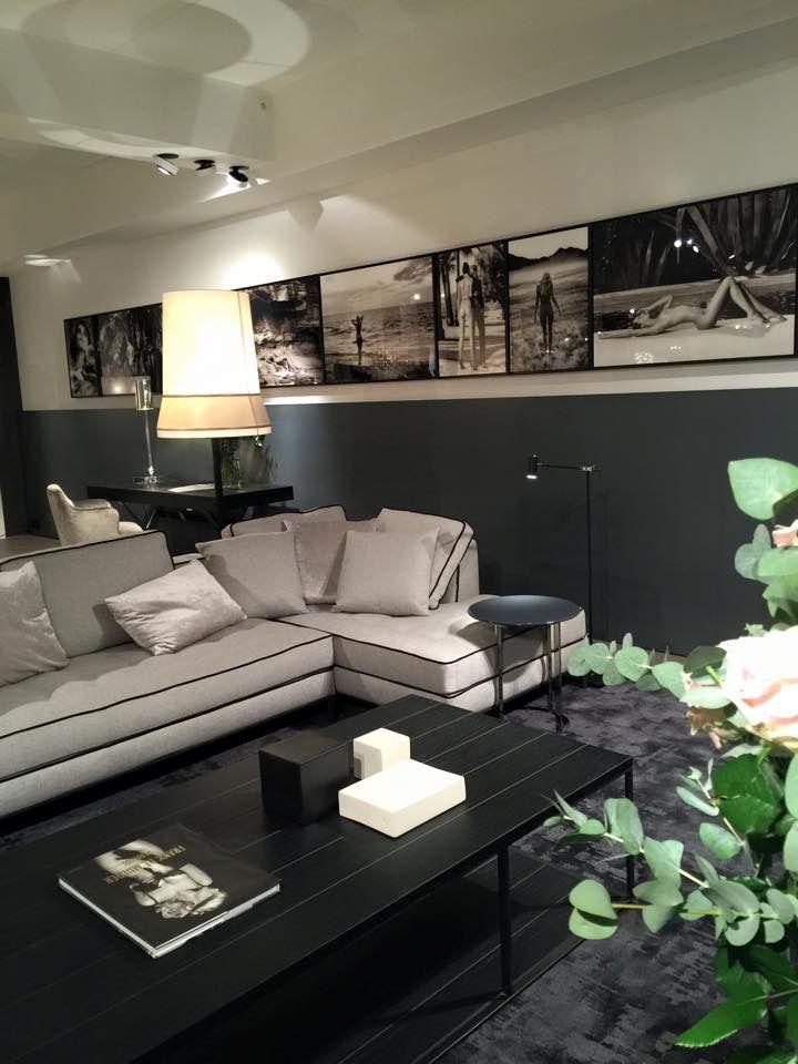 Woonkamer lambrisering donker van verf | Home\'s ideas | Pinterest ...