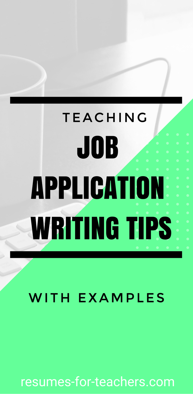 Tips To Write A Steller Teaching Application Letter To Include Relevant  Keywords And Teaching Accomplishments To