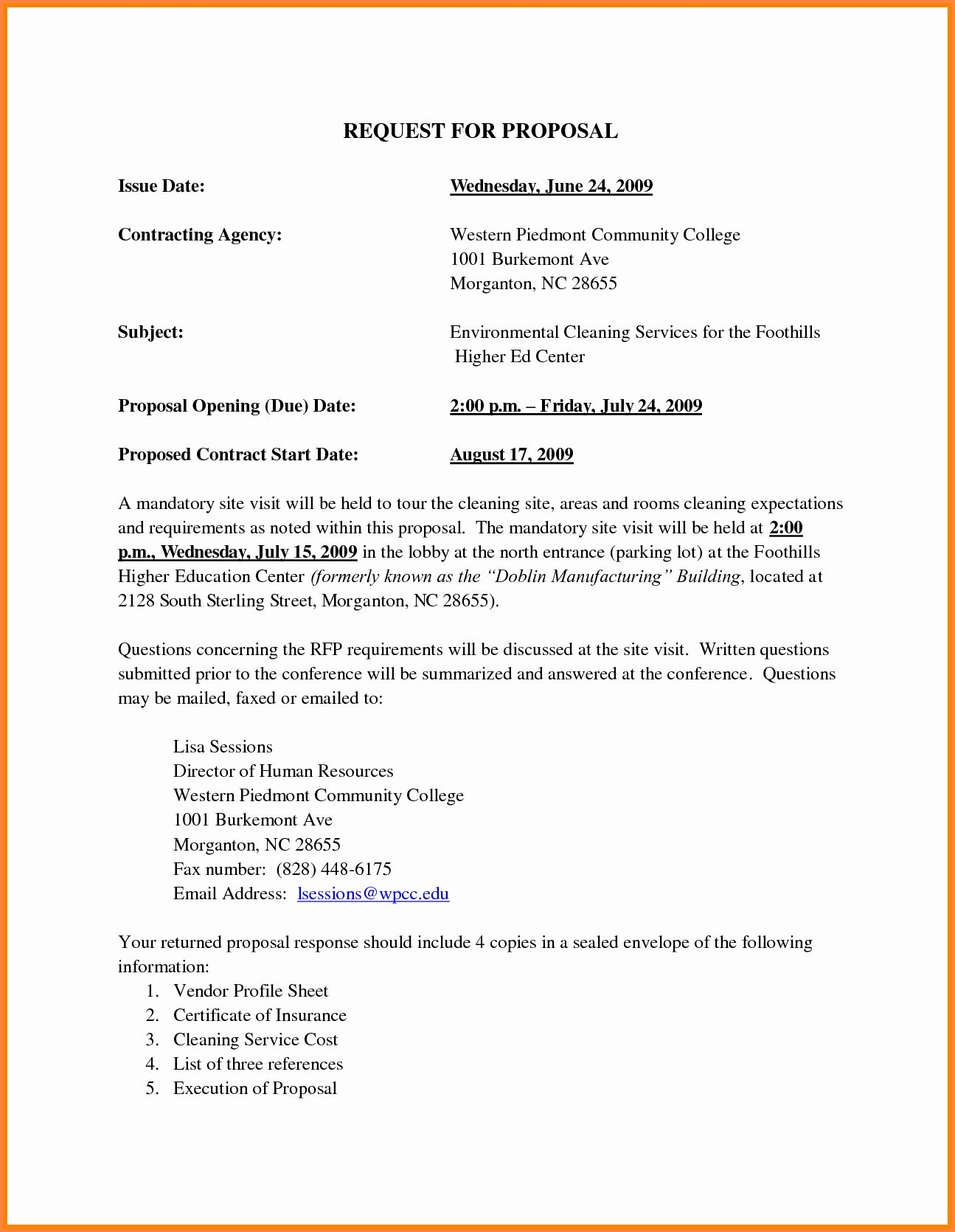Cleaning Service Proposal Template Lovely 2 Janitorial