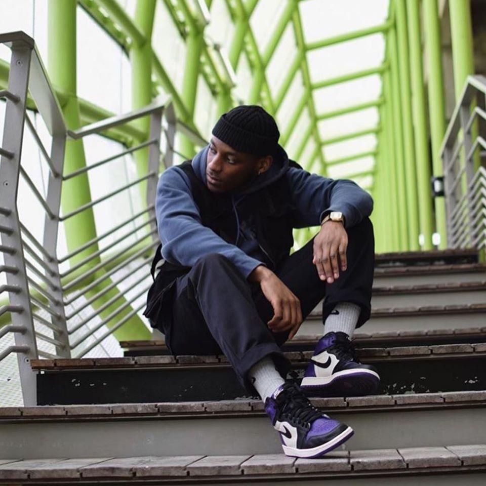Jordan 1 Court Purple Outfit