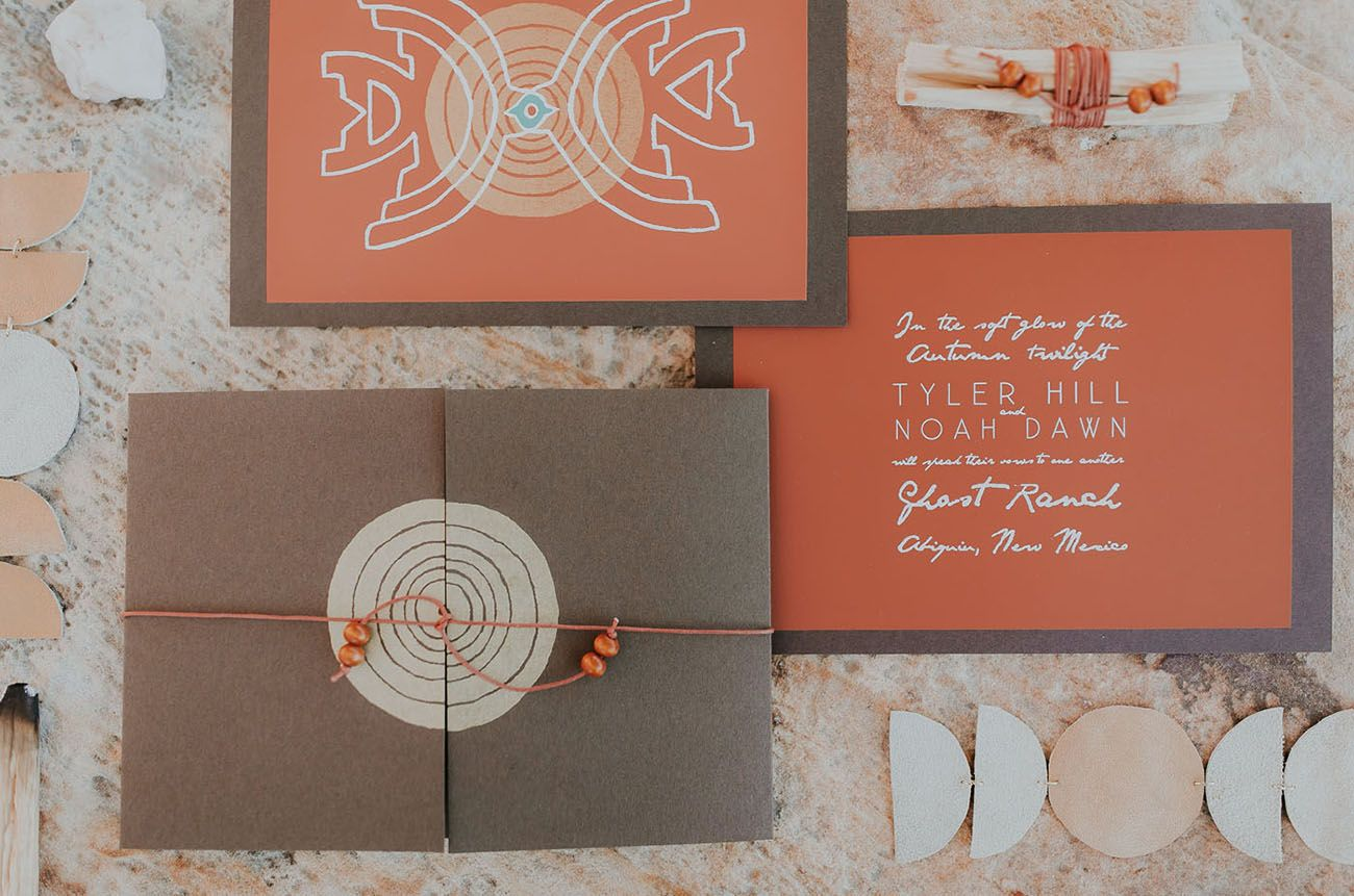 An Earthy Vow Renewal In Magical New Mexico Rust Green Weddings