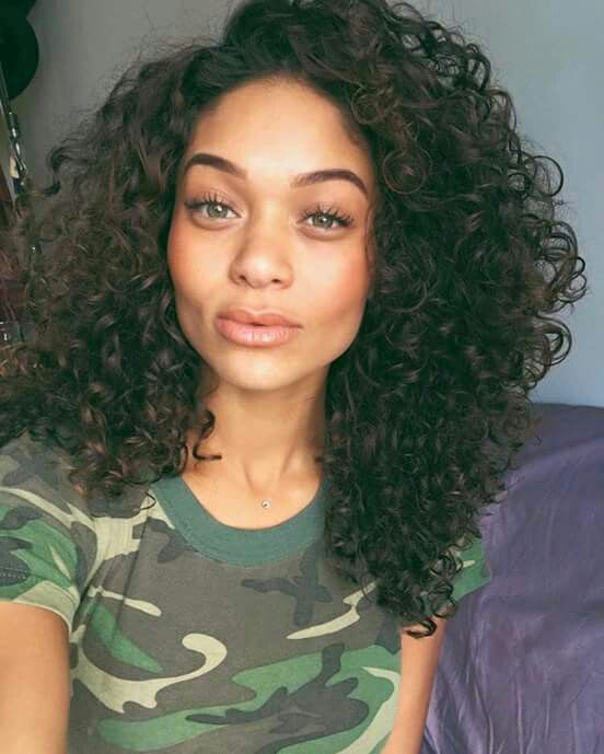 Pinterest Jussthatbitxh In 2019 Curly Hair Styles