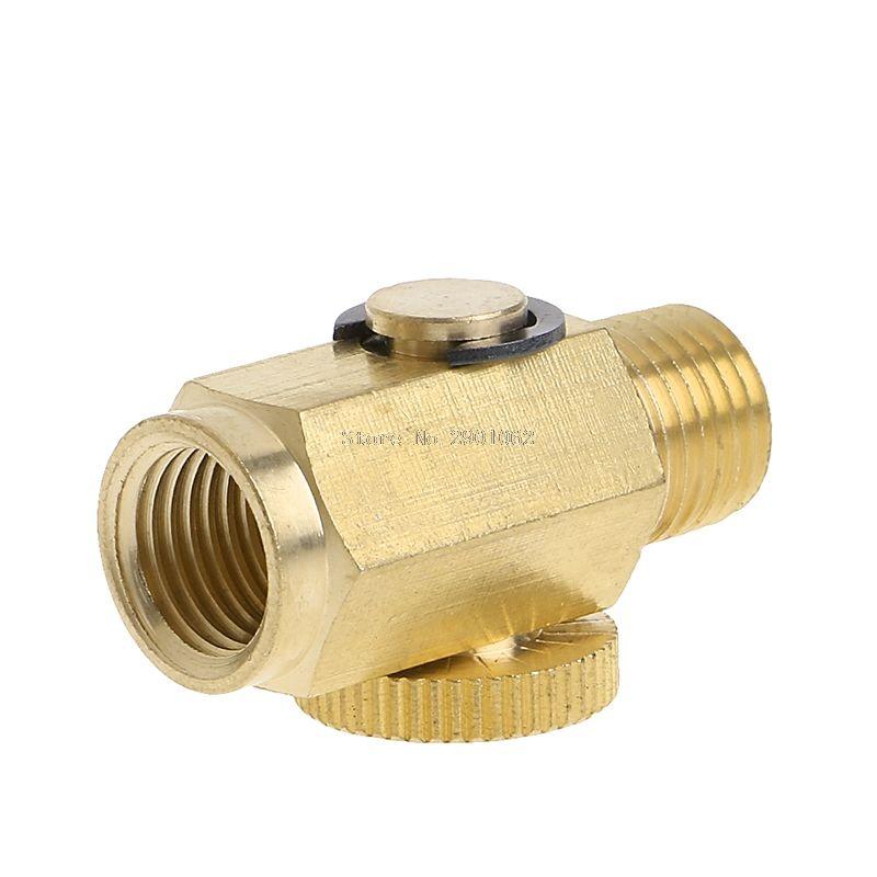 1 4 Npt Brass Compressed Air Pressure Valveinline Regulator Solid Tool B119 Air Pressure Solid Brass Compressed Air