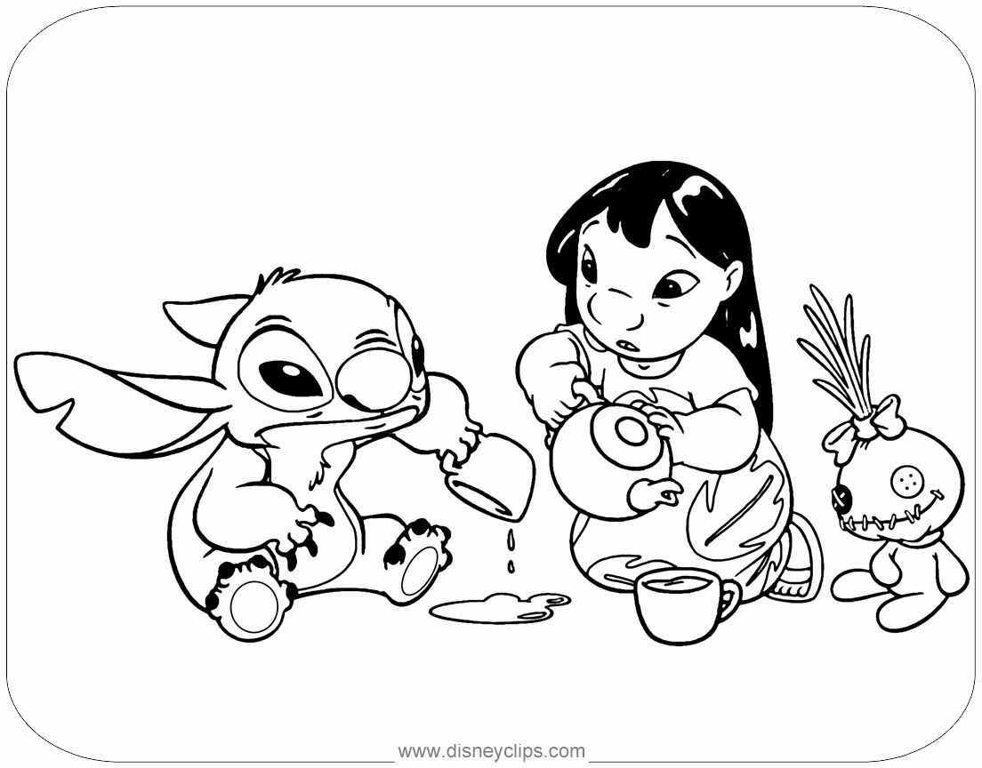 Lilo And Stich Coloring Pages In 2020 Stitch Coloring Pages Lilo And Stitch Cat Coloring Book