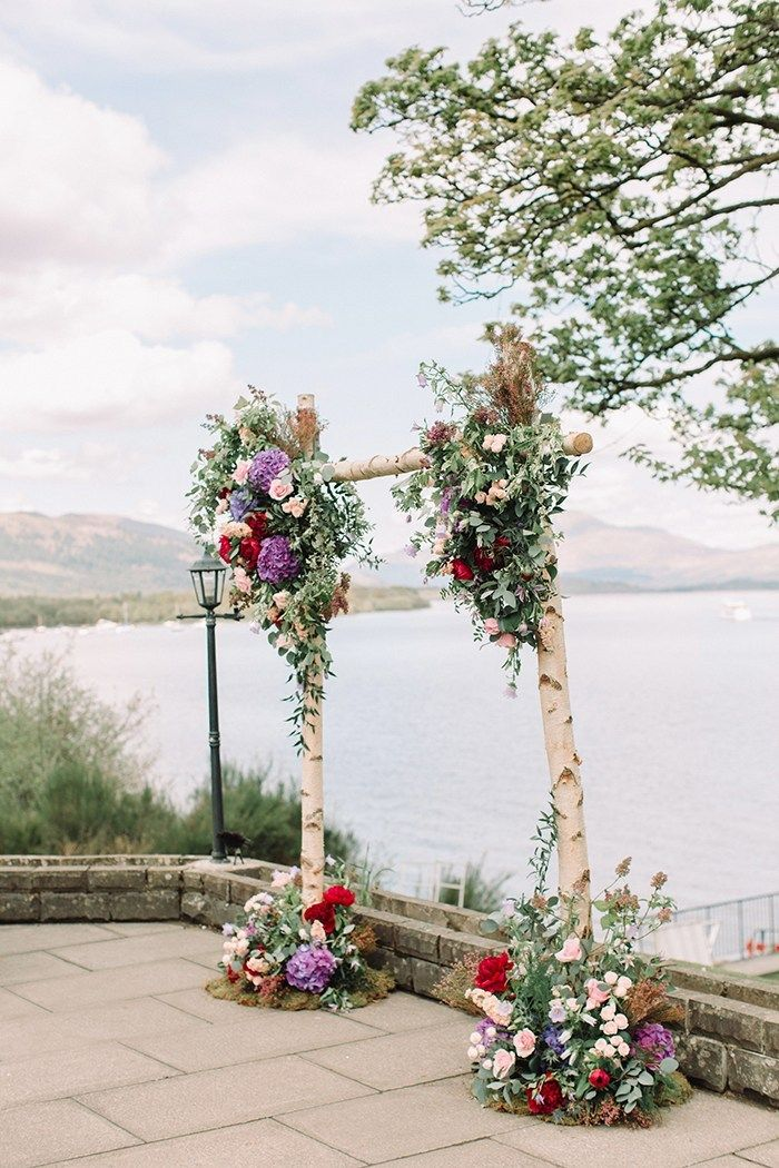 The Cruin, Arden.  Photographer: The Gibsons.  16 of the best wedding venues around Loch Lomond 2019 - Scottish Wedding Directory #lochlomond