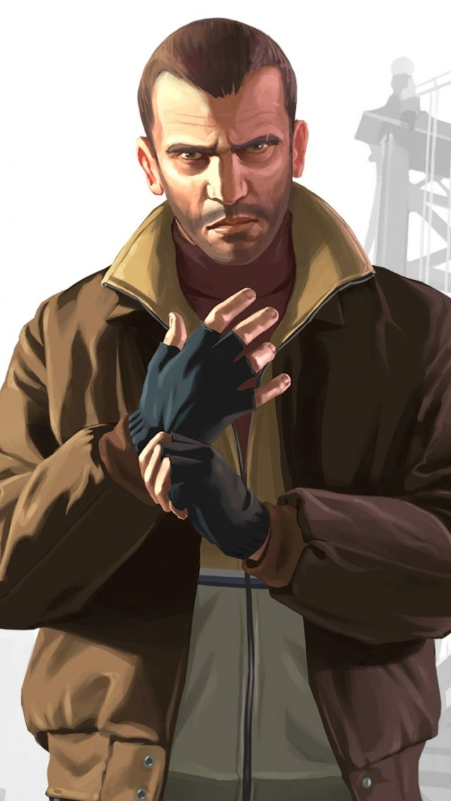 Gta Niko Bellic Wallpaper Gta Iv Games Wallpapers For Free