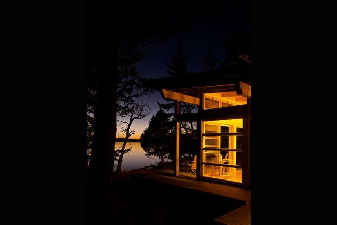 adventure journal weekend cabin gulf island bc 10