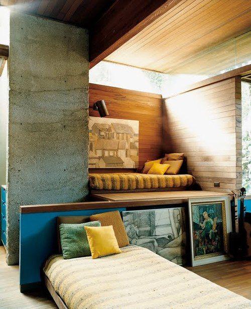kathrynsora:    Home designed byRay Kappe.