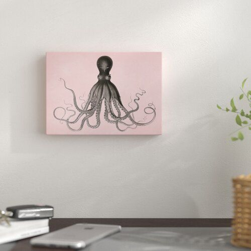 Photo of East Urban Home Mural Mil Pink Choco Octo by Coastal Print & Design | Wayfair.de