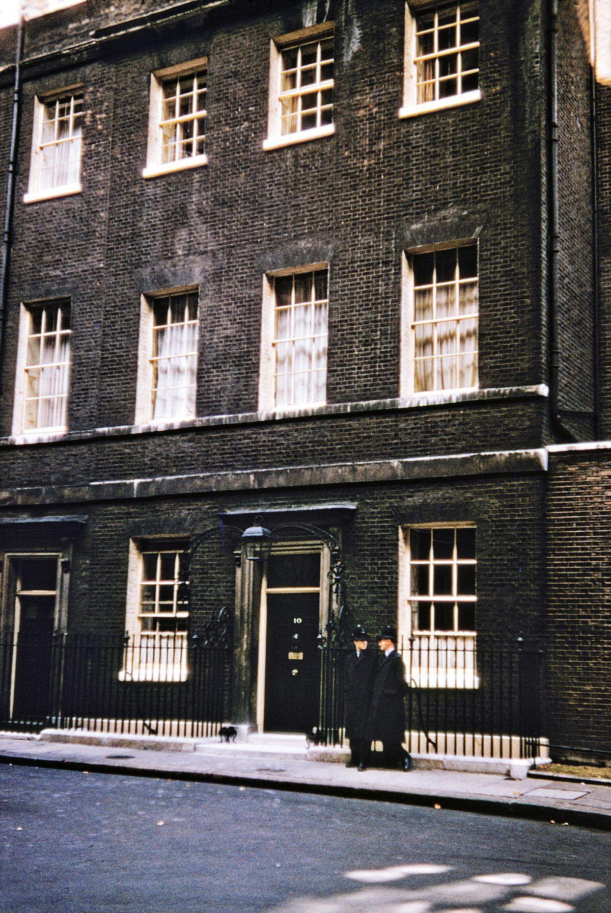 Number 10 Downing Street London England 1956 London London