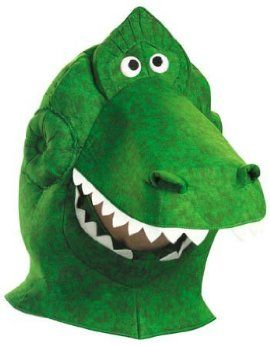 Adult Rex Character Costume Headpiece from Toy Story and Beyond