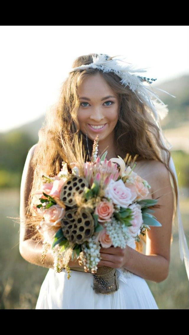 Bouquet Disney Themed Wedding Pocahontas Native American