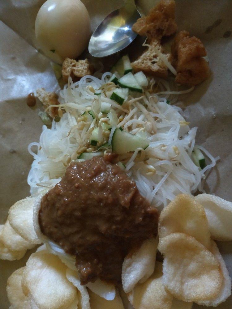 Ketoprak Bandung Indonesian Meal Asian Food Di 2020