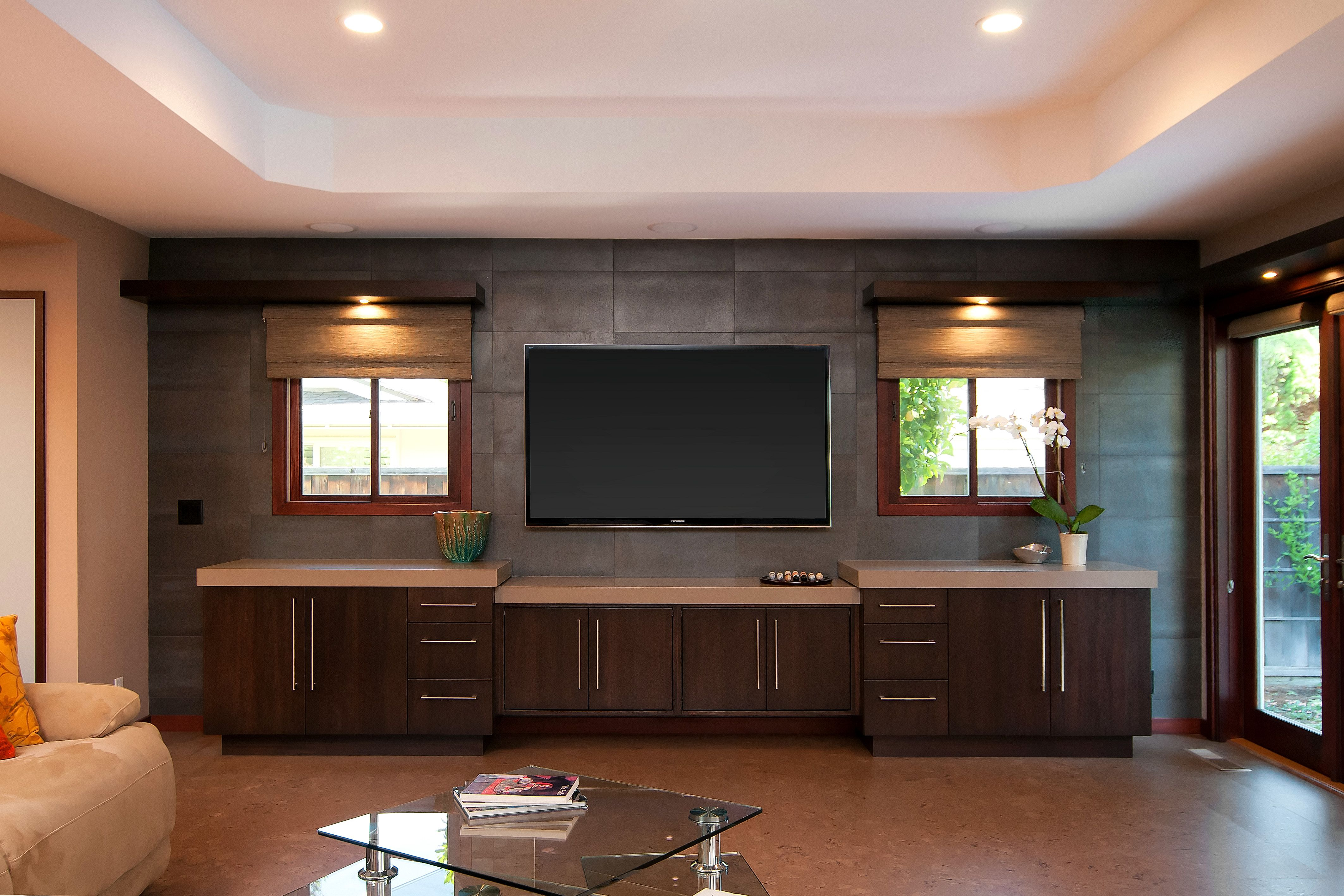 Awesome High End Entertainment Centers For Flat Screen Tvs With Flat Screen Tv On Wall Ideas Wohnen Wohnzimmer