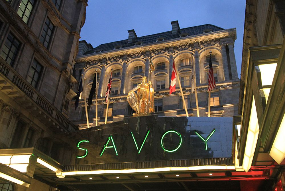 The Savoy Hotel Exterior Lighting By Lighting Design International