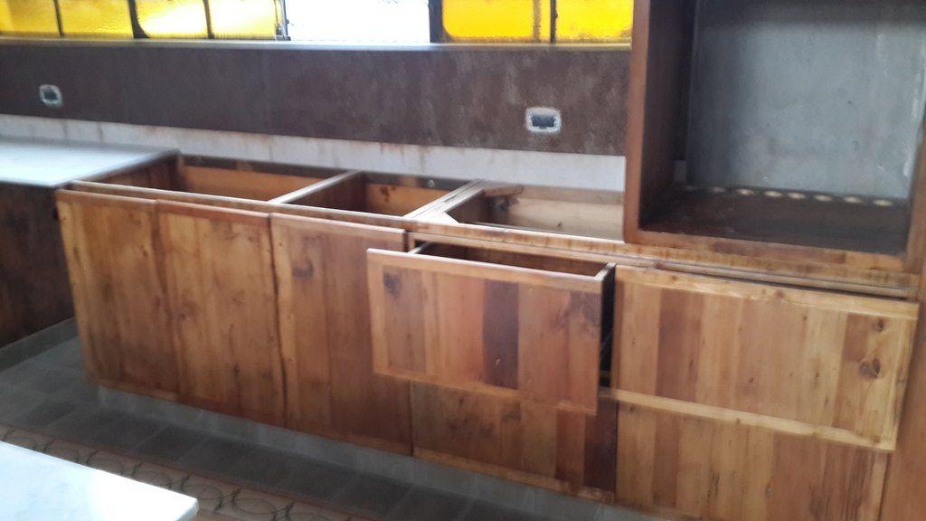 Mueble bajo mesada para cocina cocina motorhome for Muebles bajos cocina negro
