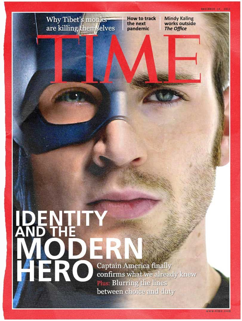 How Magazines Would Look If Superheroes Were Real Superheroes - Magazines look superheroes real