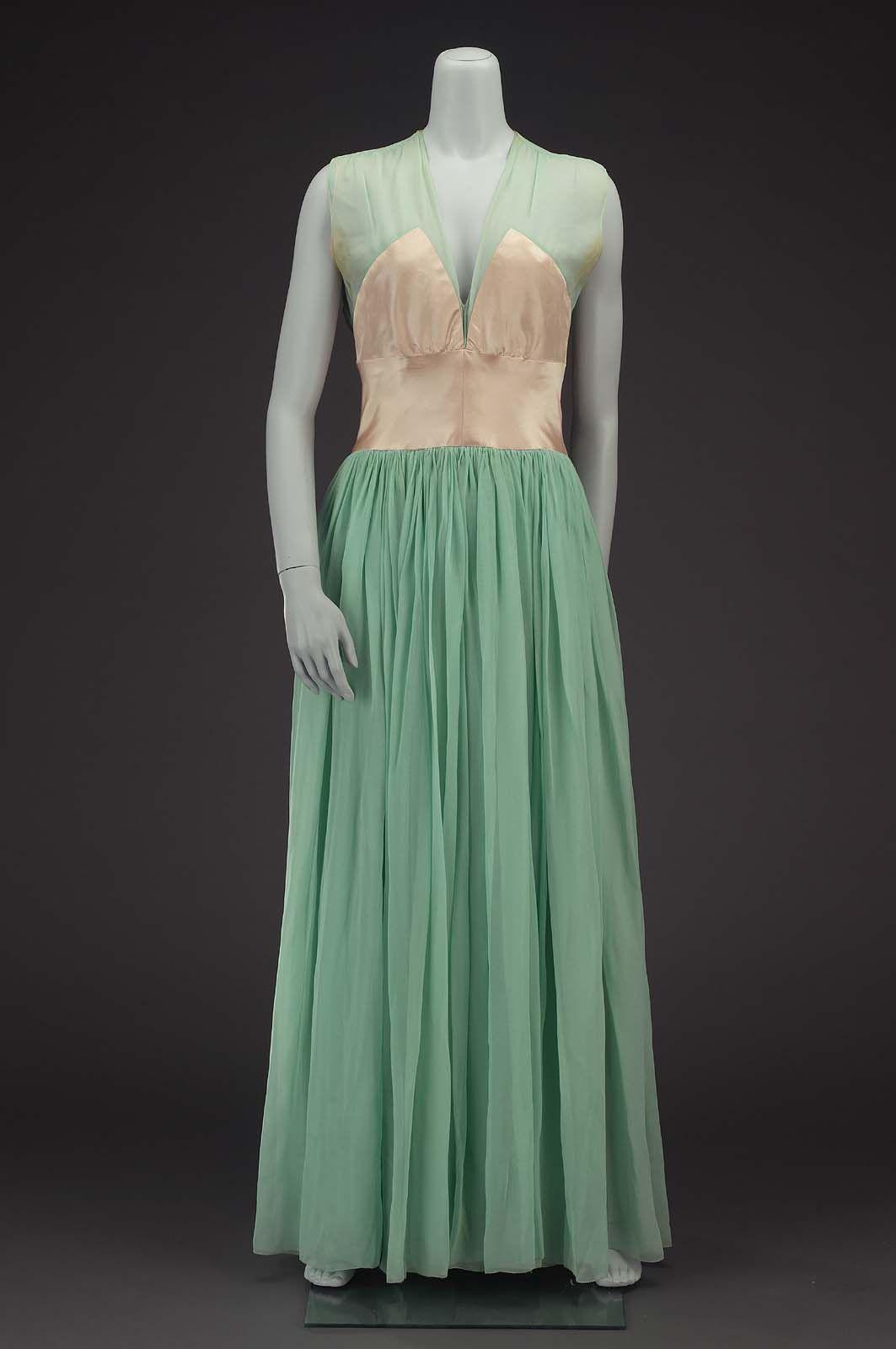 Evening dress 1935
