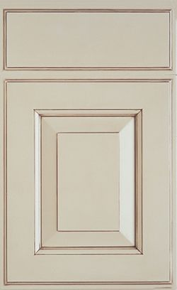 Regency MDF door style by #WoodMode shown in Heirloom White finish on MDF. : mdf door - pezcame.com