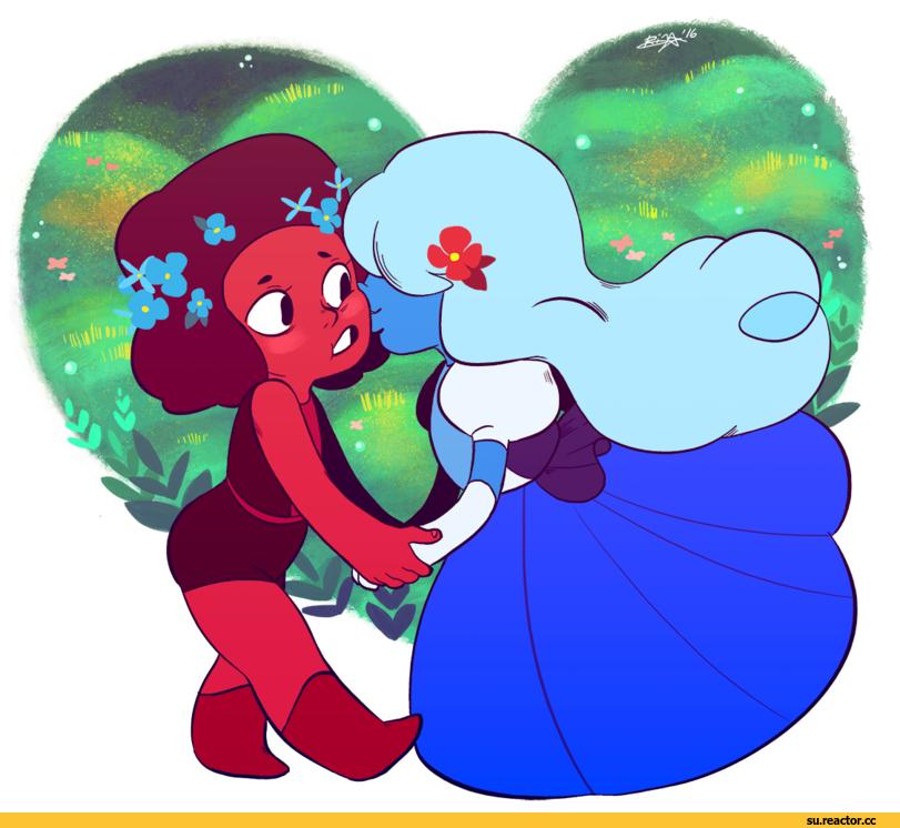 Steven universe su art su rupphire su - Ruby and sapphire su ...