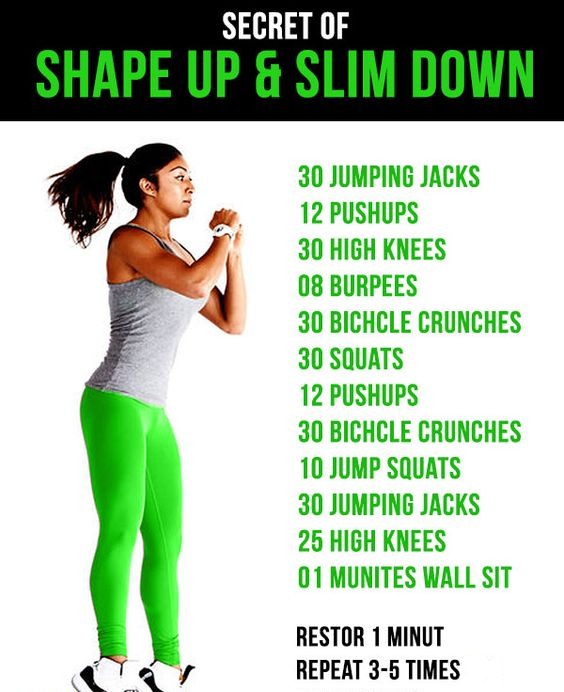 How to slim down your body fast