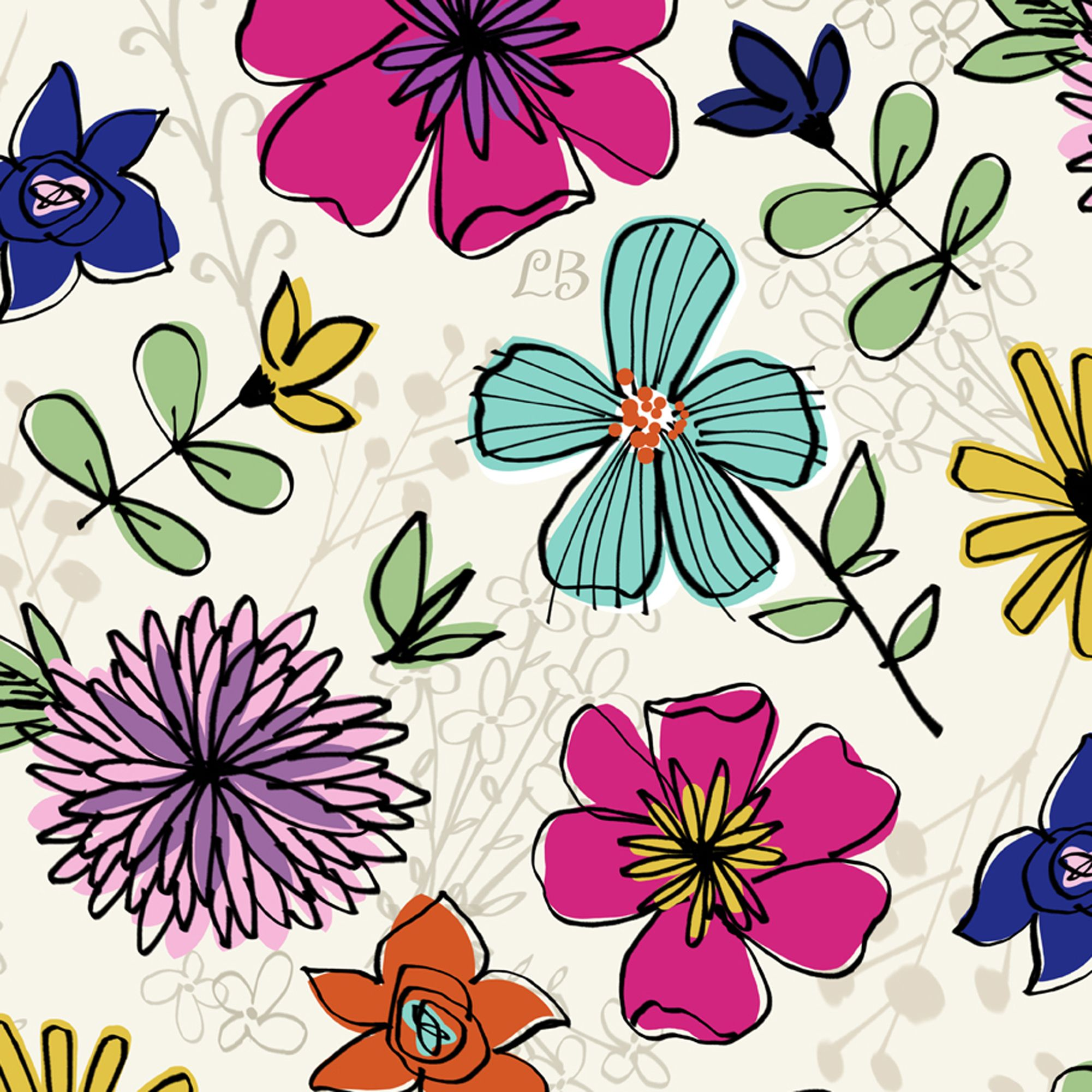 floral print twitter backgrounds wwwimgkidcom the