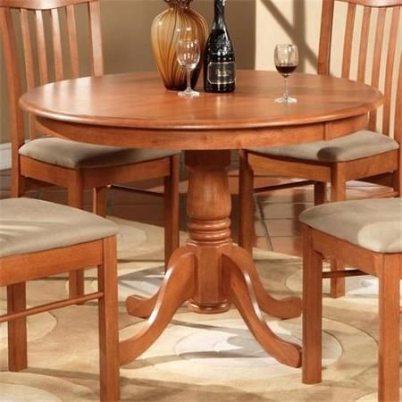Wooden Imports Hl02 T Ch20 Hartland Table 42 Inch Diameter