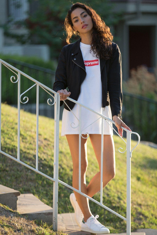 AdrianneHo_Supreme_Dress2 Supreme girls, Streetwear