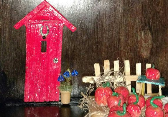 Check out this item in my Etsy shop https://www.etsy.com/listing/466543642/fairy-farmhouse-door