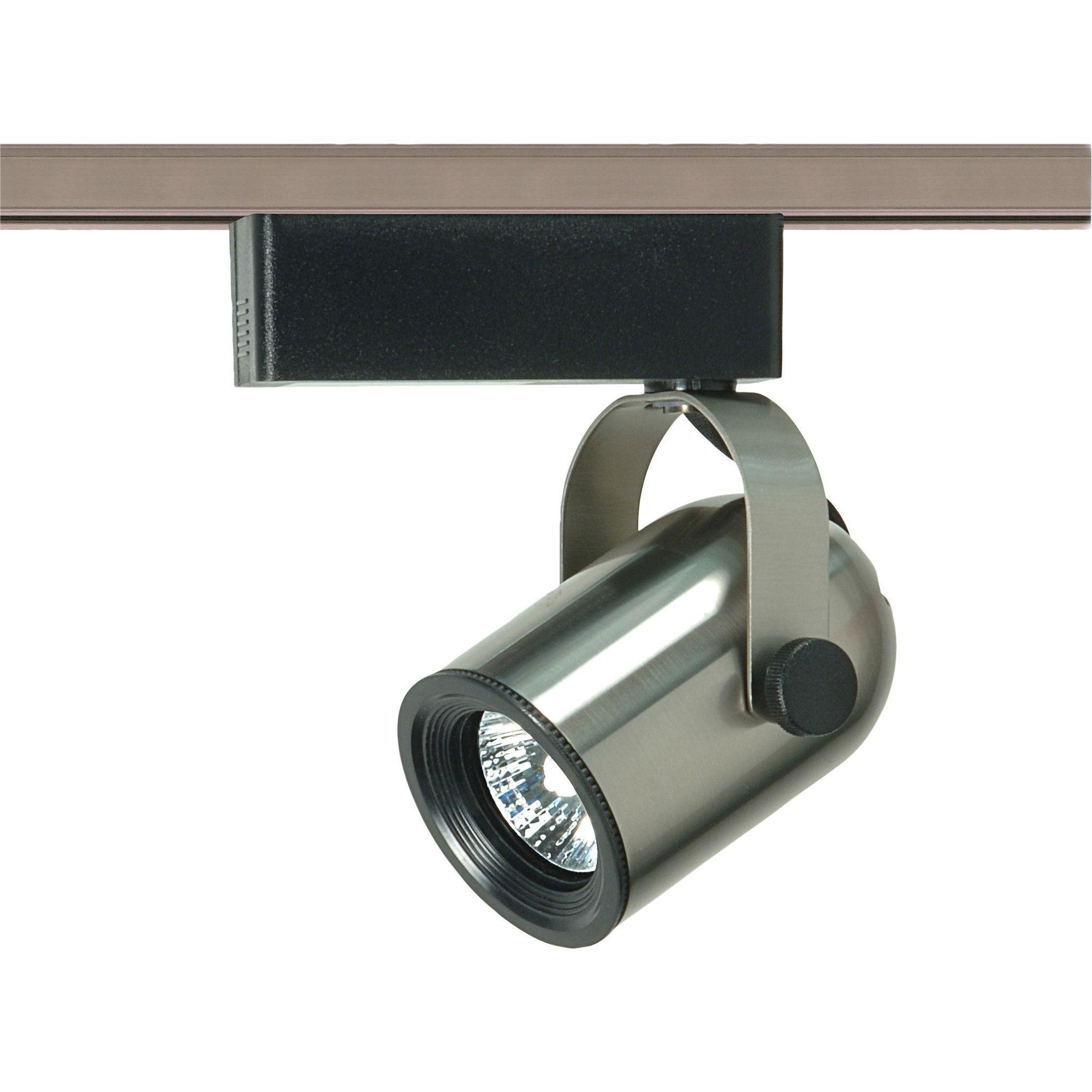 1 light mr16 12v round back track lighting head products lighting
