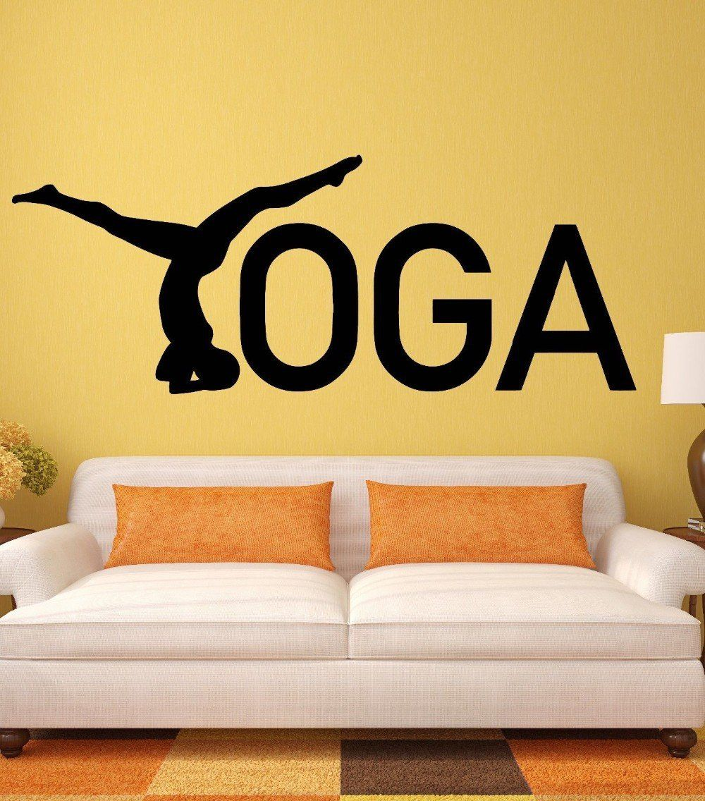Yoga Wall Stickers Zen - S   Wall sticker and Products