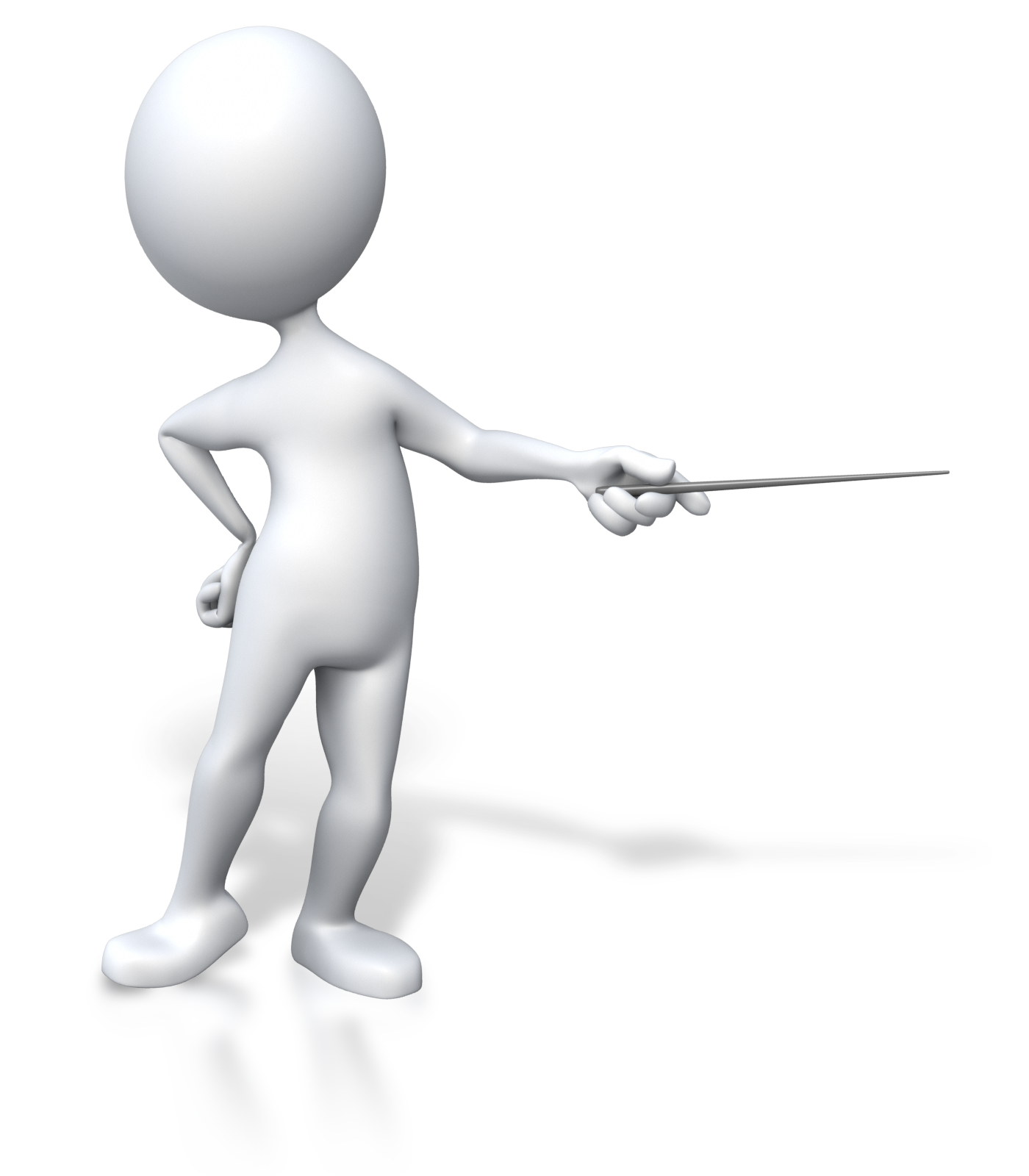 Stick Figure Presenter Pointing 1600 Clr Png 1400 1600