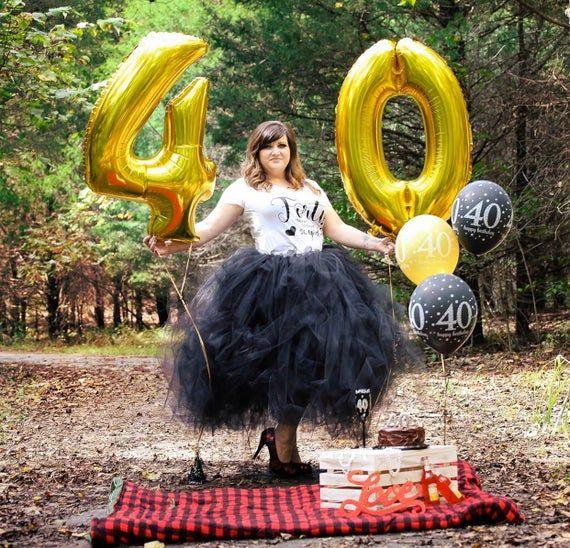 Photo of Adult tutu, womens birthday tutu skirt, thirty tutu, forty tutu, maternity tutu, adult photo shoot,