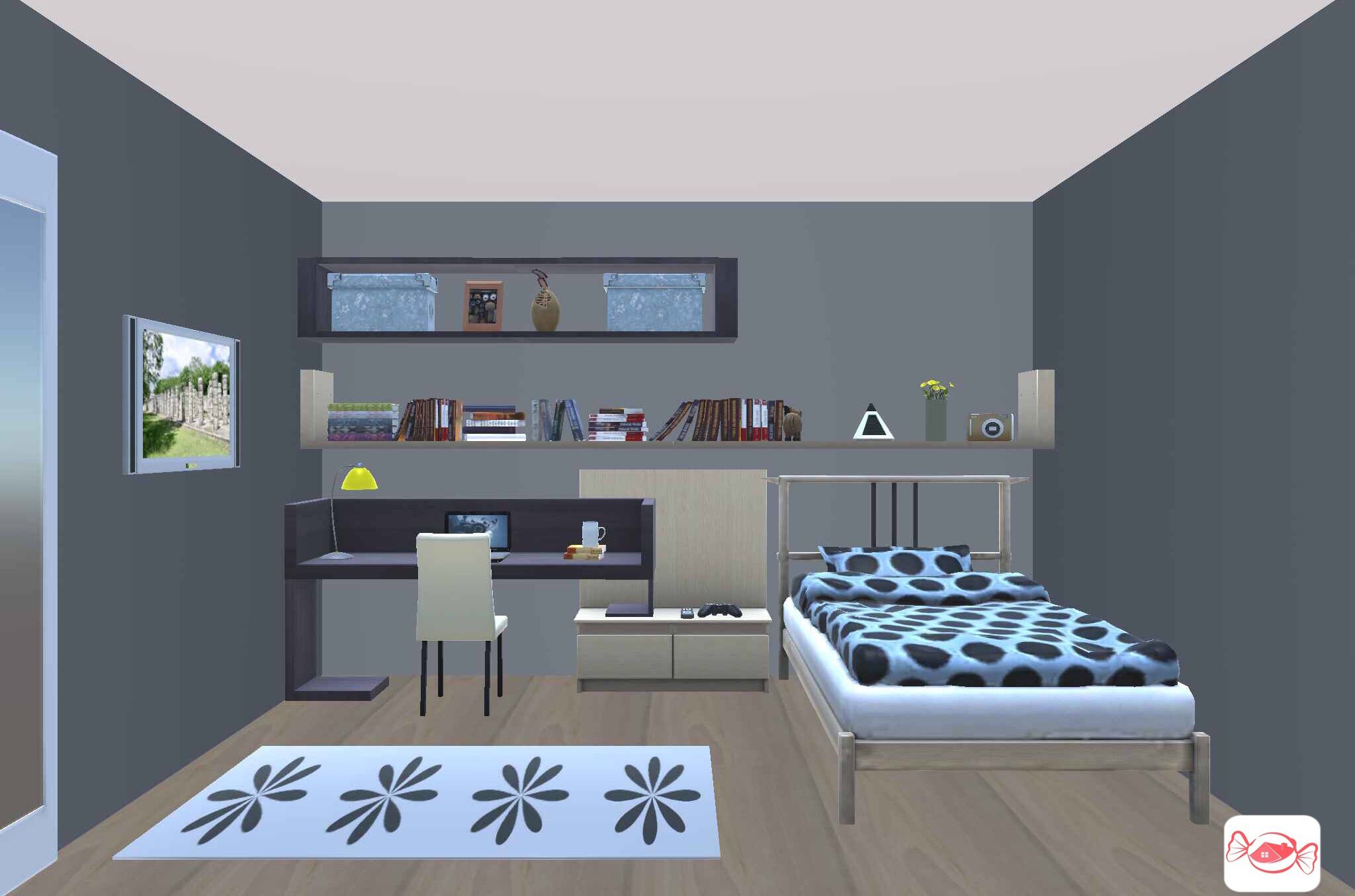 Bedroom Design Your Own Home 3d Home Design Sweet Home