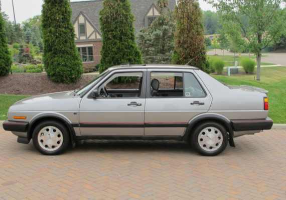 1988 Volkswagen Jetta GLI 16V Trophy (With images