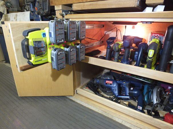 Ryobi Tool Cabinet | Garage Worthy | Pinterest | Ryobi tools and ...