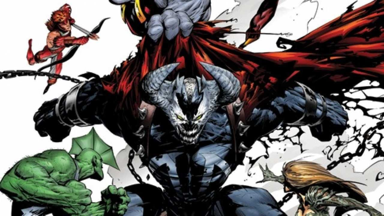 Image Comics with Omega Spawn in the middle by Greg Capullo | Comics ...