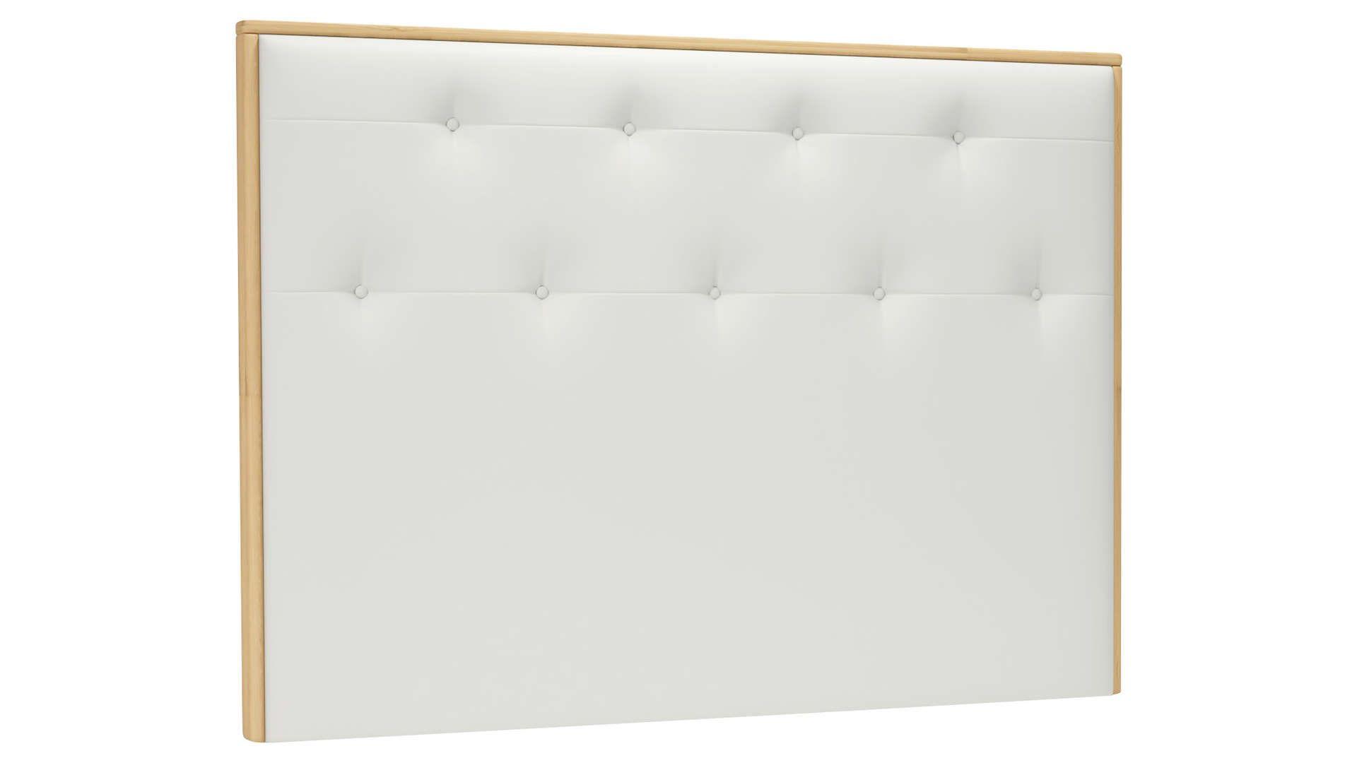 Tete De Lit 165 Cm Sienne Coloris Blanc Tete De Lit Lit Tete De