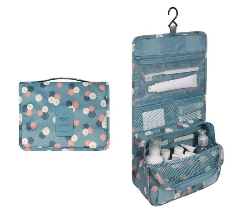 $12.51 (Buy here: http://appdeal.ru/50d3 ) New Portable Waterproof Multifunctional Travel Cosmetic Bag High Capacity Hanging Bag Zipper Toiletries Organizer Bag makeup Bag for just $12.51